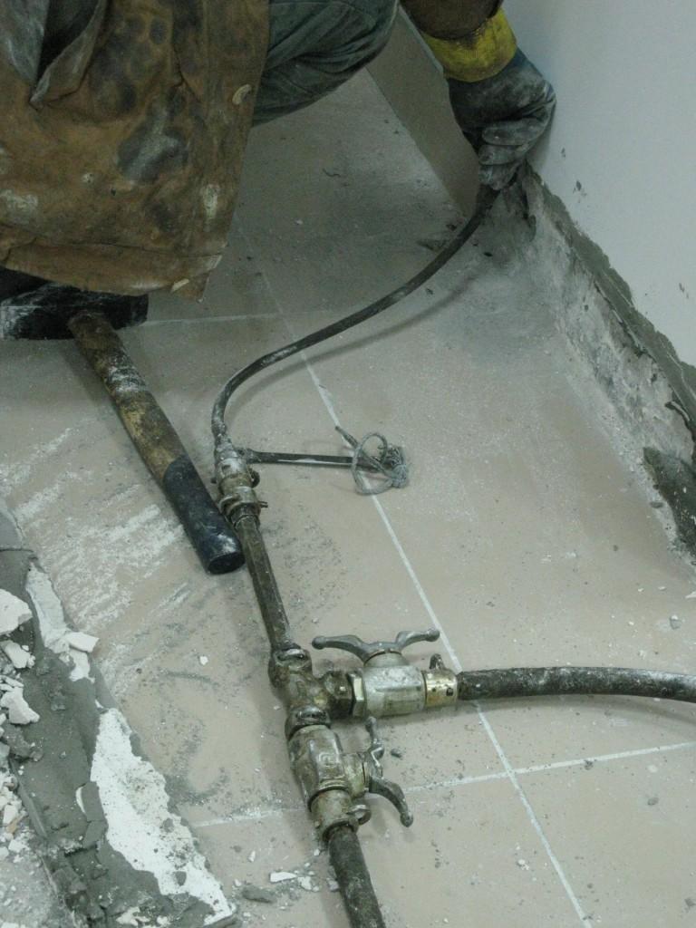 Гидроизоляция примыкания «фундаментная плита -стена», «пол-стена,