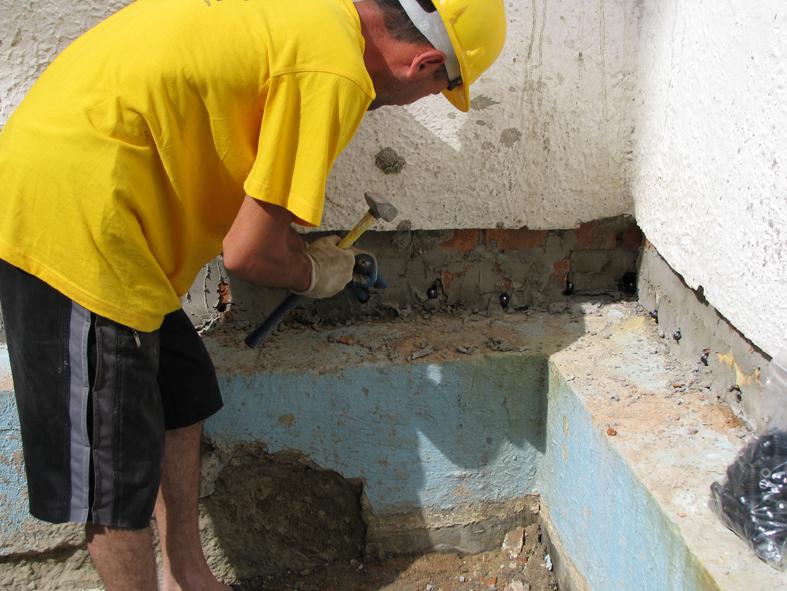 Отсечка подсоса капиллярной влаги стен акрилатным гелем_IMG_1274