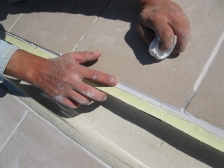 Шнур для заделки швов в бетоне