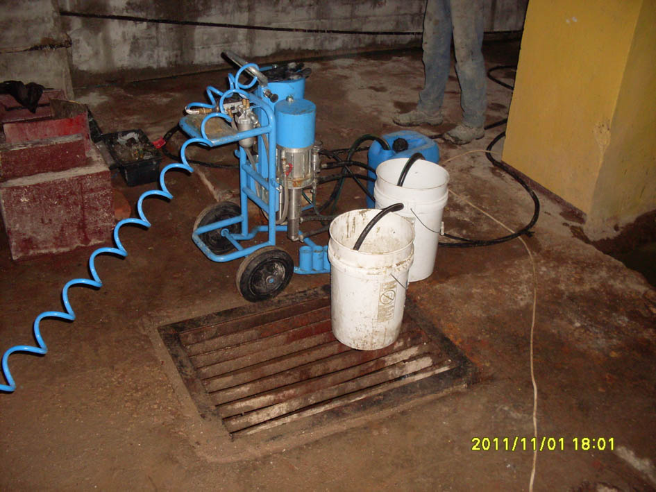 гидроизоляция ж/б резервуаров